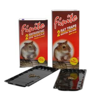 Κόλλες για ποντίκια - Ποντικοπαγίδες